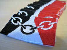 Embroidered BLACK COUNTRY Flag Iron on Sew on Patch Badge HIGH QUALITY APPLIQUE