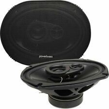 """New listing Powerbass S-6903 6""""x9"""" 70W Rms 4-Ohm Full-Range Car Audio Coaxial Speaker System"""
