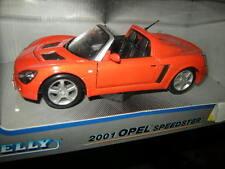 1:24 Welly Opel Speedster 2001 OVP