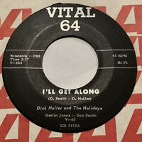 OLDIES 45rpm Dick Holler and the Holidays VITAL 64 VG+