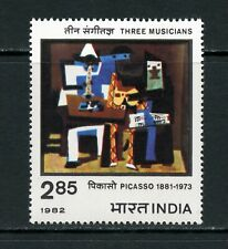 U598  India  1982  art paintings Picasso  1v.   MNH
