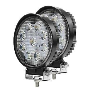 4-Inch LED Spot Light Pods Work Flood Driving Fog Lamp Offroad 4WD SxS Truck