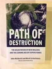 Path of Destruction by John Mcquaid, Mark Schleifstein