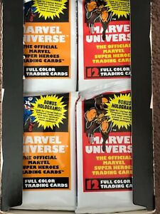1990 Series 1 Marvel Universe Sealed Pack + 10% OFF - Newly Updated!!!!!!!!!!!!!
