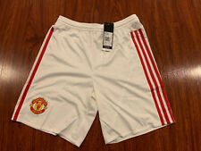 2015-16 Youth Adidas Manchester United Home Soccer Jersey Shorts Large L Boys
