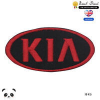 Kia Car Brand Logo Embroidered Iron On Sew On PatchBadge For Clothes etc