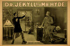 Strange Case of Dr Jekyll and Mr Hyde Vintage Theater Poster