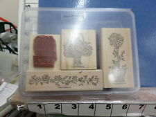 Heart Blossom set   Stampin UP Rubber Stamp 35H