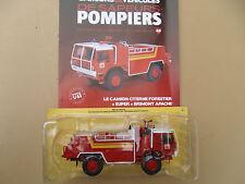 N° 48 SUPER BRIMONT APACHE Camion Pompier Citerne Forestier 1/43 Neuf en Boite