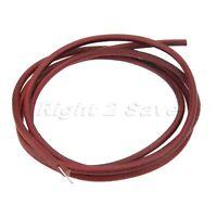 183cm Brown Leather Belt Antique Treadle Parts + Hook For Singer Sewing Machine