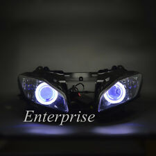Demon Angel eyes HID Projector Headlight Assembly For Yamaha YZF R6 2008-2014 13