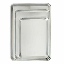 Nordic Ware Naturals 3-Piece Cookie Sheet Set Free Shipping HoT