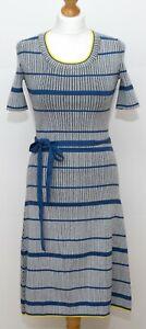 Hugo Boss Rib knit Dress Size XS S 8 VGC