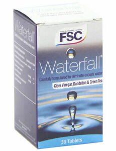 FSC Waterfall 30 Tablets to help eliminate excess water..