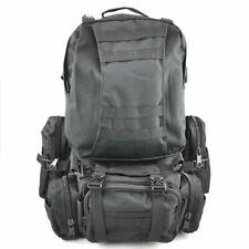 AKORD Camping Trekking Hiking Bag Rucksack  Outdoor Sport Backpack - Black, 50L