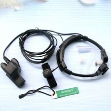 Motorola HeadSet EarPiece Throat Mic Adjustable Band Stretch Xts5000 Xts5000R