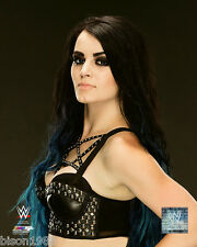RARE WWE Paige Divas blue hair 8x10 PHOTO studio