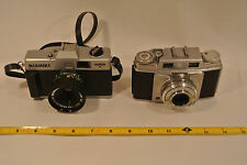 Vintage Nishiki Super II and Ansco Memar Pronto Camera