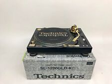 TECHNICS SL-1200 GLD 24k Gold Plated Limited Edition w/ Original Box