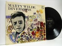 MARTY WILDE diversions LP EX+/EX-, SBL 7877, vinyl, album, uk, 1969, philips,