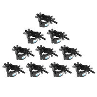 TUV Heavy Duty Lighting Truss DJ Light Clamps O Clamp for 1.2-1.4in Pipe 10PCS