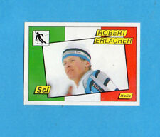 SUPERSPORT 1986-PANINI 86-Figurina n.167- ERLACHER - ITALIA -SCI-Recuperata