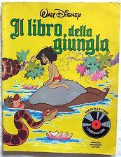 WALT DISNEY IL LIBRO DELLA JUNGLA ASCOLTA LE FIABE MONDADORI 1983