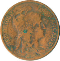 COIN / FRANCE / 10 CENTIMES 1907   #WT5477