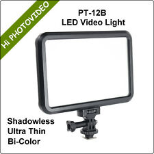 Ultra Thin LED Video Light Panel Bi-color Soft and Shadowless for Photo Video