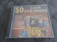 """CD NEUF """"50 CLASSIC PUB SONGS"""""""