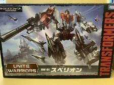 Transformers Unite Warriors UW01 Superion Takara Tomy Figure with box USED