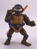 Vintage 1990 Ninja Turtles TMNT Donatello Storage Shell Rare Toy Figure Bow Boy