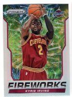 2014-15 Panini Prizm Basketball Kyrie Irving SP Silver Fireworks Insert #12 Cavs