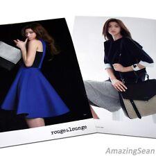 JUN JI HYUN / Cheon Song Yi Poster, 2014 rouge&lounge Photo Poster, Photobook