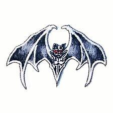 FLYING BAT EMBRODIERED PATCH P454 biker new jacket bats BLACK NEW