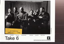take 6 limited edition press kit