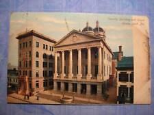 SECURITY BLDG & COURT HOUSE YORK, PA  POSTCARD  1907