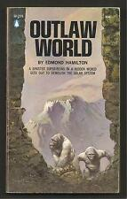 VINTAGE FRAZETTA PB; OUTLAW WORLD - Edith Hamilton FN Pop. Lib. '60s 1st Ed.