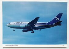Cyprus Airways Airbus A310 Postcard