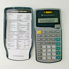 Texas Instruments TI-30Xa Scientific Calculator With Cover -Tested Working USA