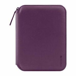 Incase iPad Mini 5 4 3 2 1 Portfolio Sleeve Case Cover & Stand & Notepad -Purple