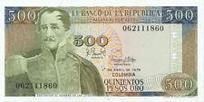 Colombia P-420 500 pesos oro 1979 UNC