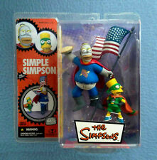THE SIMPSONS PIEMAN AND THE CUPCAKE KID HOMER AND BART SIMPSONS MCFARLANE TOYS