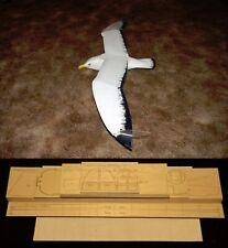 "64"" wingspan Turkey Vulture R/c Glider short kit/semi kit and plans"
