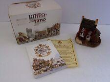 Lilliput Lane Miniature Masterpiece Holly Cottage United Kingdom 1984 Tate Box