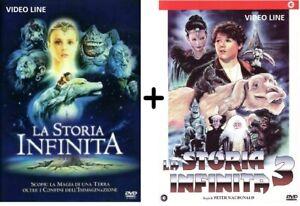 Dvd La Storia Infinita 1-3 (2 Film DVD) .....NUOVO