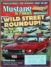 MUSTANG & FORDS 2000 FEB - COBRA PANEL, PAXTON K-CODE