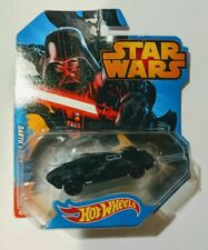 Authentic Mattel Star Wars Hot Wheels Darth Vader Car Highly Collectible Black