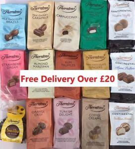 Thorntons Chocolates Bags, Cappuccino, Almond, Rum Truffles etc
