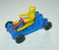 Vintage Spielzeug Auto Groschenauto Plastik Modellauto Go Kart 1:43 Gokartsport